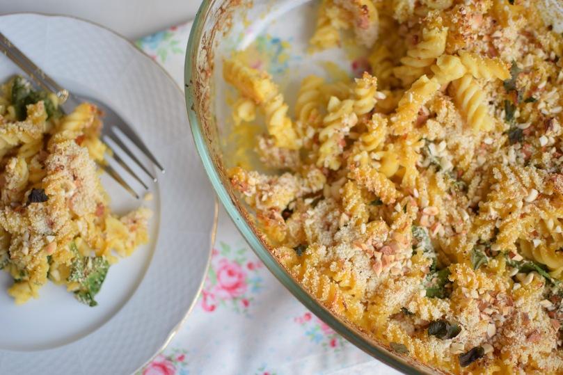 vegansk-bakad-mac-and-cheese